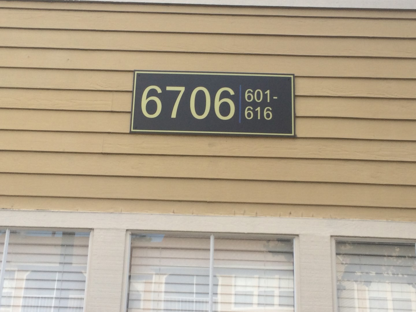 Apartment Community Building Numbers