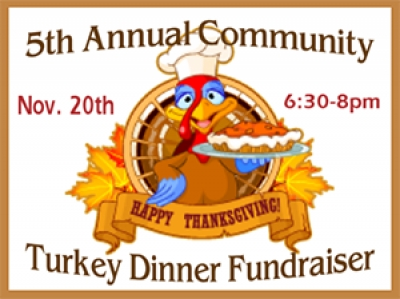 Thanksgiving Yard Sign Fun Turkey Fundraiser Template
