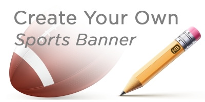 Create Your Own Sports Banner