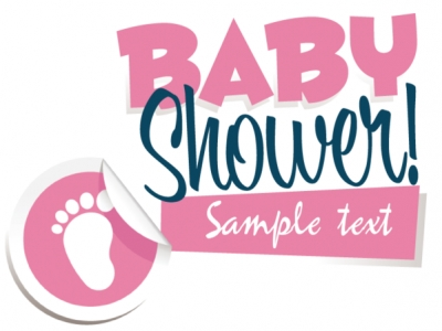 Baby Shower for Girl Yard Sign Template