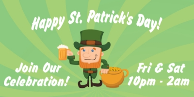 St. Patrick's Day Holiday Green Beer Party Template