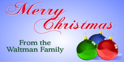 Christmas Holiday Family Wish Template