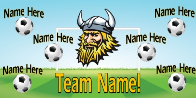Soccer Sports Template Team Banner