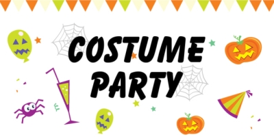 Halloween Holiday Costume Party Template