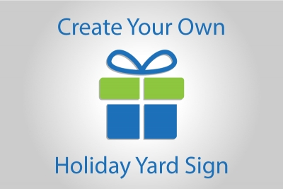 Create Your Own Holiday Yard Sign