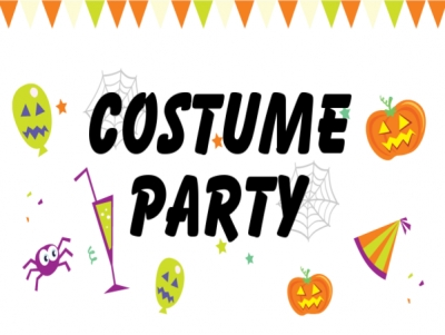 Halloween Yard Sign Costume Party Template