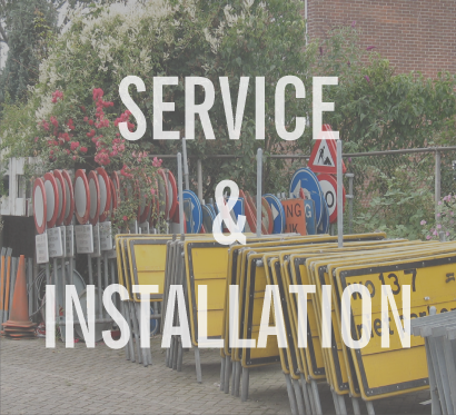 service and install full