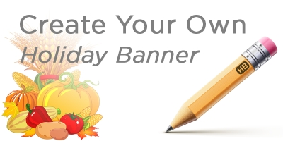 Create Your Own Holiday Banner