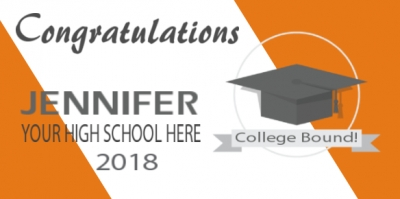 Customizable Graduation Banner Template
